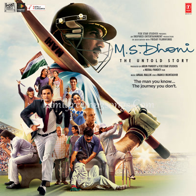 MS Dhoni - The Untold Story (Tamil) Poster