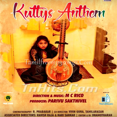 Kutties Anthem - Music Album Poster