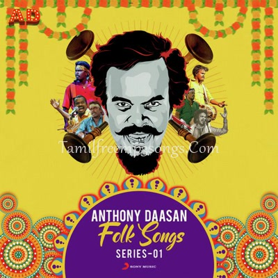 Anthony Daasan Folk Songs Poster